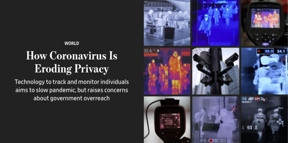 Coronavirus eroding privacy