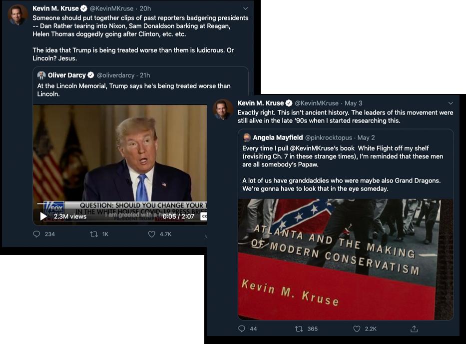 Kevin Kruse Tweets